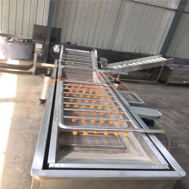 气泡清洗机黄瓜蔬菜高压喷淋清洗设备