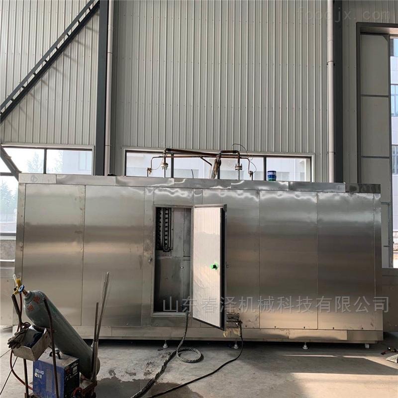盐酥鸡速冻单冻机 隧道式低温速冻设备