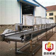 JC-1200劲创厂家定做高温肉制品摊凉冷却线