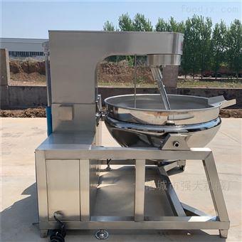 200L供应高粘度食品行星全自动搅拌夹层锅