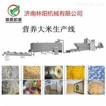 双螺杆膨化杂粮营养米生产线济南林阳机械