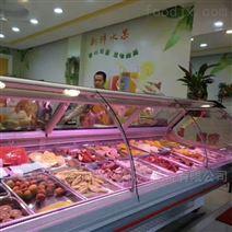 广州2米鸭脖熟食展示柜那种款式好