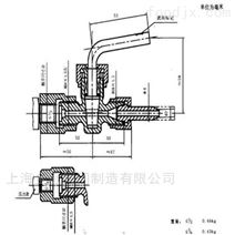 船用NK船检证书青铜16K带压力表旋塞阀厂家