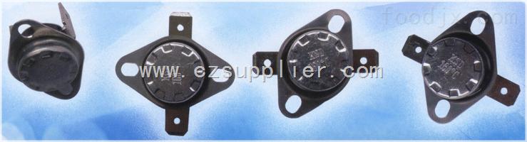 水泵铁壳热保护器,家用电器设备铁壳热保护器