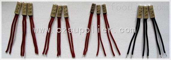 电动工具铁壳热保护器,电子组件铁壳热保护器,变压器铁壳热保护器,镇流器热保护器,家用电热电器热保护器