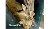 羊电击晕 电麻击晕设备 羊屠宰设备 羊屠宰线设备