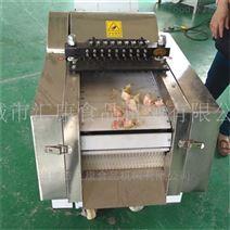 猪尾骨带骨冻肉切块机连续切割产量高