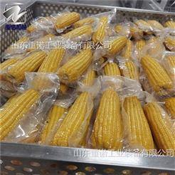 ZN-1200三锅一罐玉米杀菌锅全套玉米清洗流水线