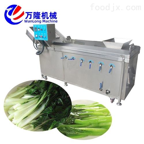 配送中心用不锈钢鸡爪水煮烫菜机 加工设备