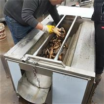 汇康机械芋头毛辊除皮清洗机正反转自动出料