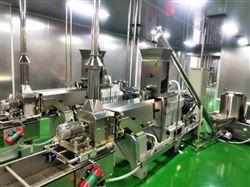 全自动膨化设备~大豆拉丝蛋白设备生产线
