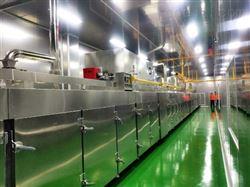 膨化设备~小型大豆拉丝蛋白设备生产线