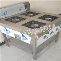 成都食堂厨房设备四眼煲仔炉
