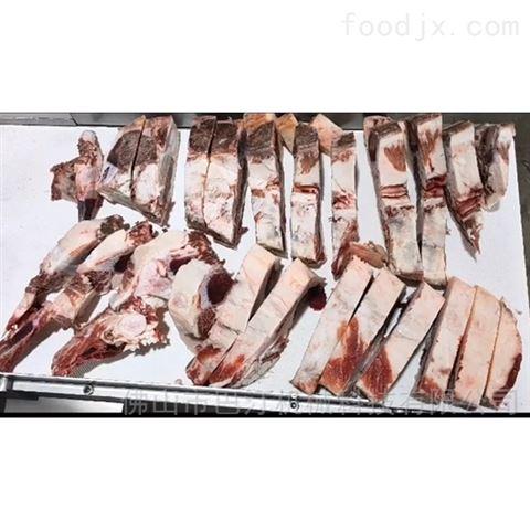 全自动冻牛肉切丁机