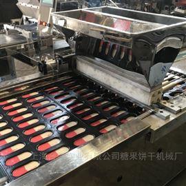 上海合强HQ-600PLC双色蛋糕成型机 全自动蛋糕注浆机