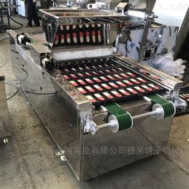 上海合强HQ-600双色蛋糕生产设备 蛋糕成型机 合强蛋糕烤箱