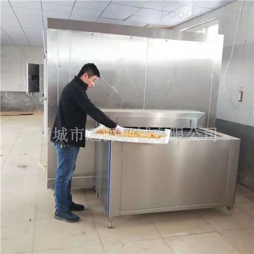 厂家供货水饺隧道式冷冻机
