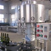 玻璃瓶皇冠盖啤酒灌装机