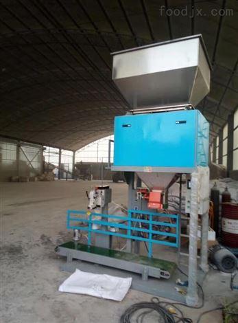 饲料工厂用的半自动颗粒包装机