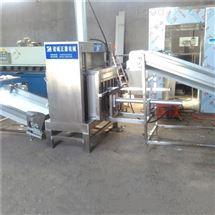 自动装卸料压榨机 带推料器脱水机
