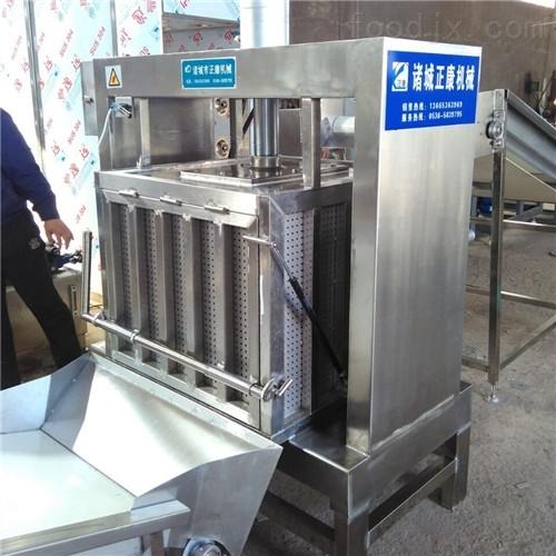 野生蓝莓收汁压榨机