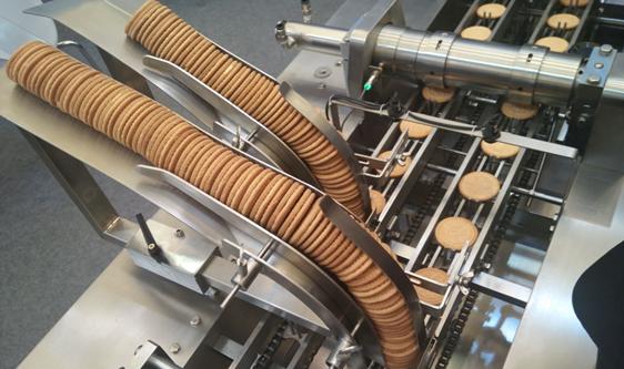 饼干消费呈现高端化趋势 生产设备朝向多功能发展