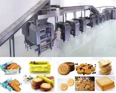 饼干生产线