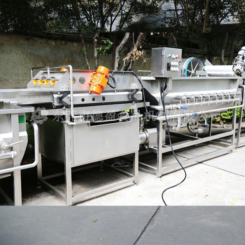 不锈钢蔬菜清洗机照片