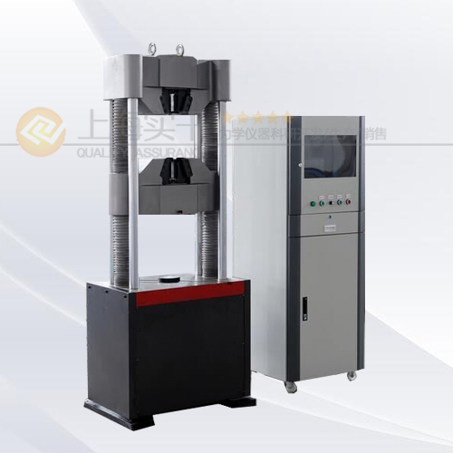 碳素钢液压万能试验机图片