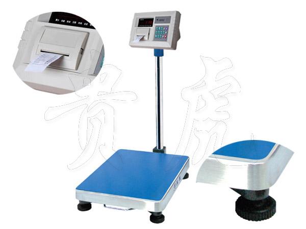 带打印落地式台秤,上海连电脑电子台秤