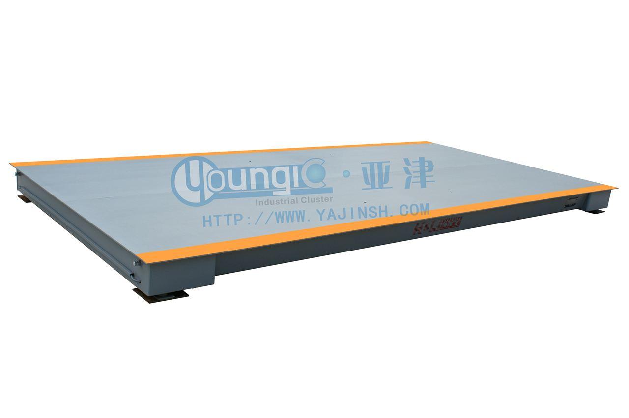 供应亚津标准式电子汽车衡 100吨3*12米大地磅价格
