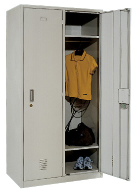2门钢制更衣柜