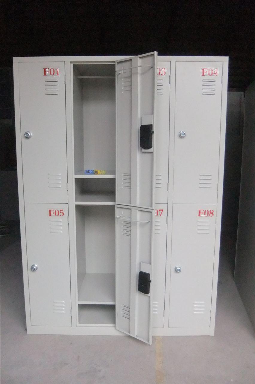 6门电子感应锁更衣柜