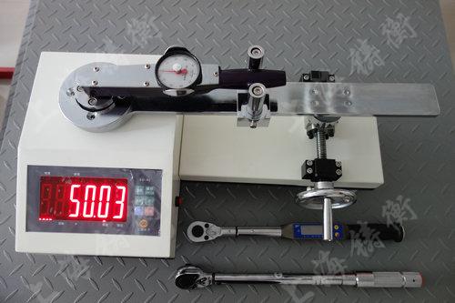 SGXJ扭力扳手检定仪检定表盘扭力扳手案例图片